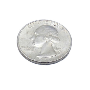 US Coins Silver Quarters 1964 D Washington AU Bright - indypicker-com