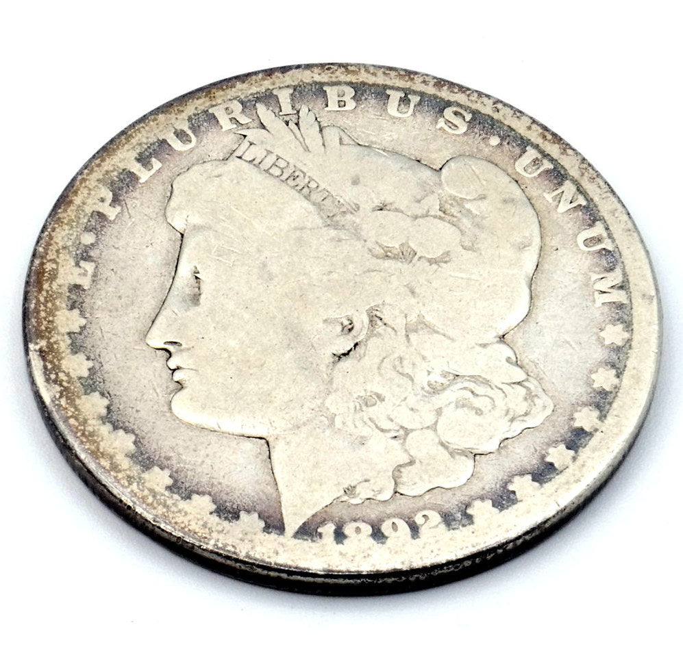 1892 CC Morgan Silver Dollar VG - Key Date