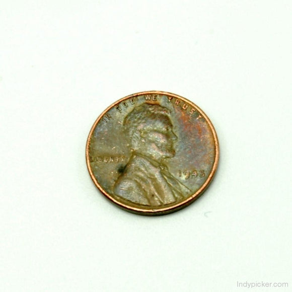 Vintage 1945 Lincoln Wheat Penny XF - Indypicker.com