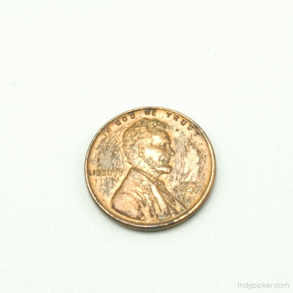 US Coins 1945 Lincoln Wheat Penny VF - indypicker-com