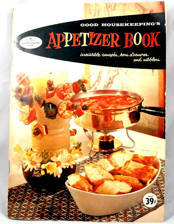 Vintage Appetizer Recipe Book from Good Housekeeping - indypicker-com