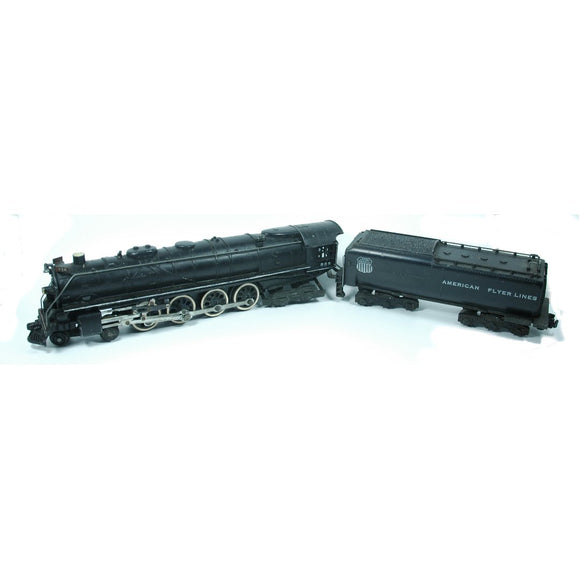 Model Train American Flyer Union Pacific 336 Locomotive and Tender (c.1950s) - indypicker-com