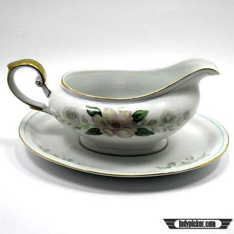 Vintage Grace China Gravy Boat Rochelle Made in Japan