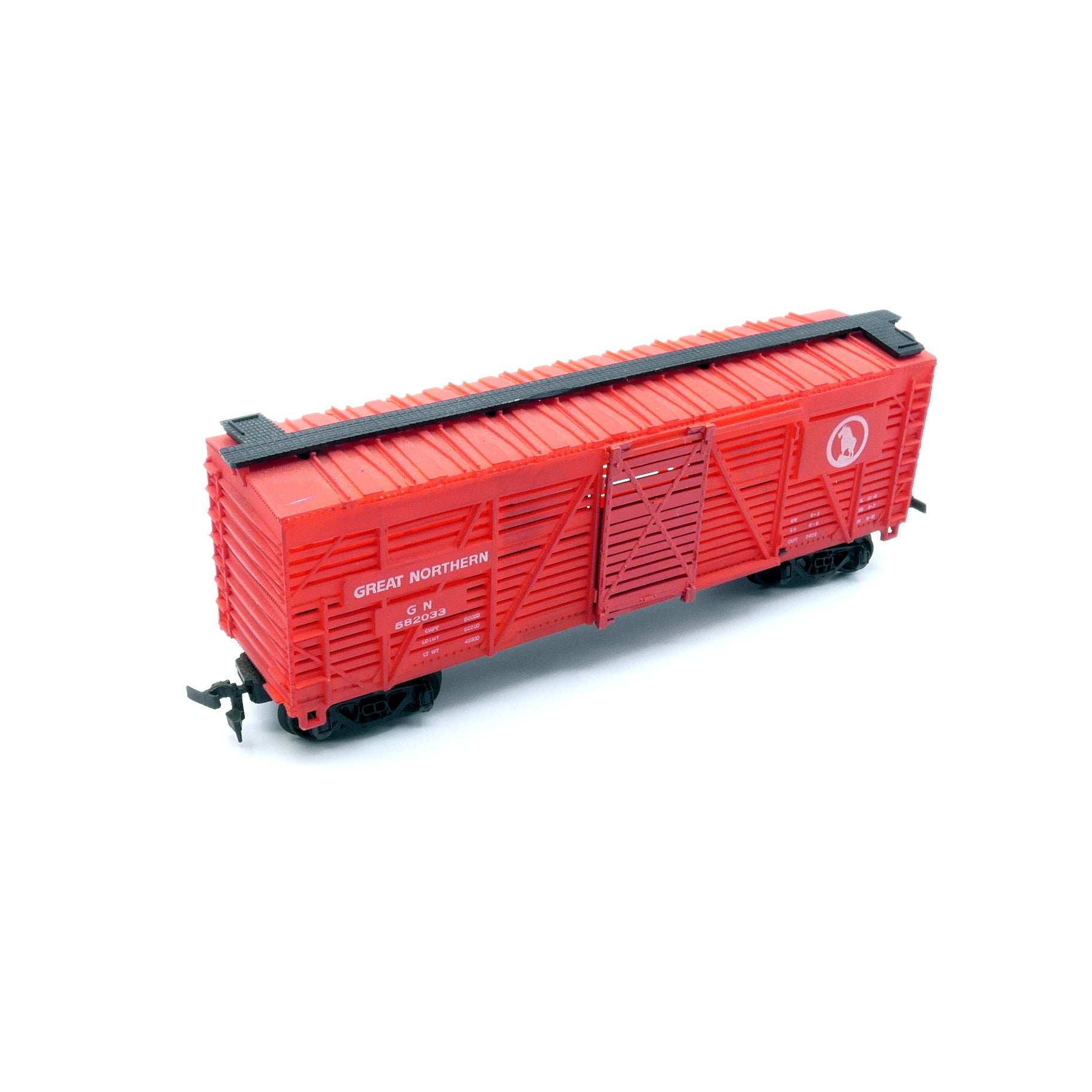 Vintage Model Trains - H/O Bachmann Great Northern Box Car