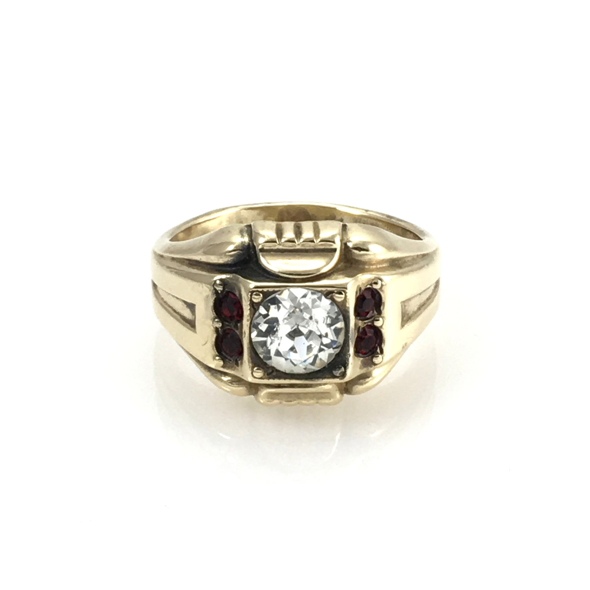 Vintage Men's Gold Filled Evening Ring