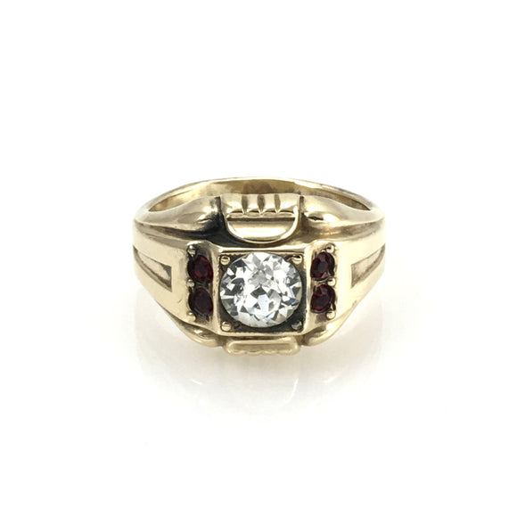 Vintage Men's Gold Filled Evening Ring - Indypicker.com