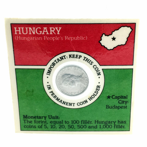 Hungary 5 Filler Coin Kellogg Sugar Crisp Error Coin