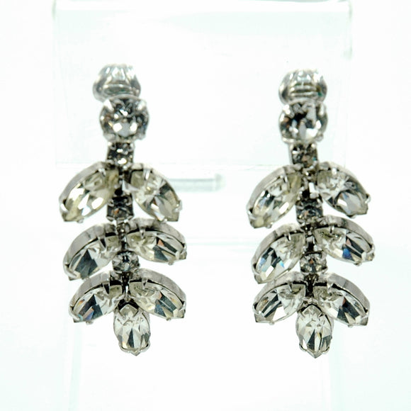 Vintage Weiss Jewelry Dangle Earrings Signed - Indypicker.com