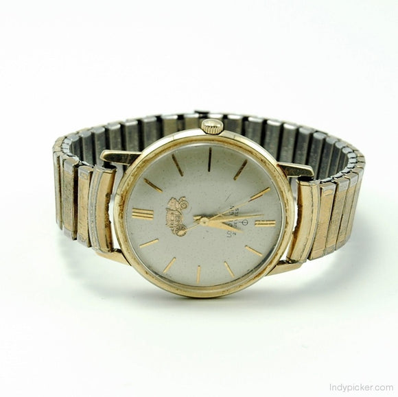 Vintage 14K Gold Lord Elgin Mens Watch GM Award - Indypicker.com