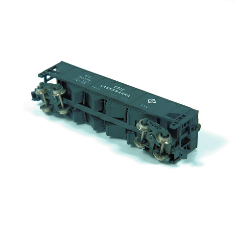 Model Train Atlas N-Scale 90 Ton Hopper S6000 Erie Lackawanna