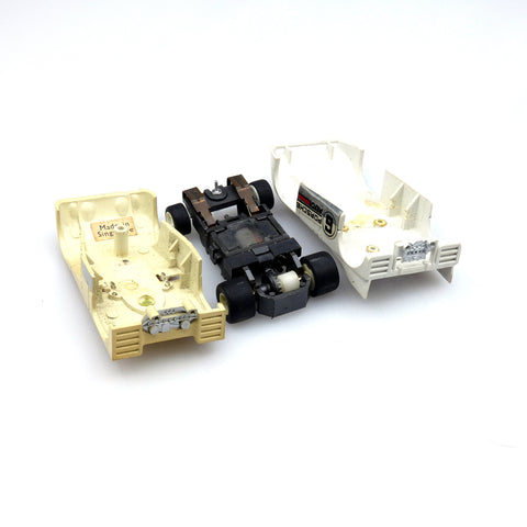 Vintage Slot Cars - HO Scale Auroa AFX L&M Bodies and Chassis
