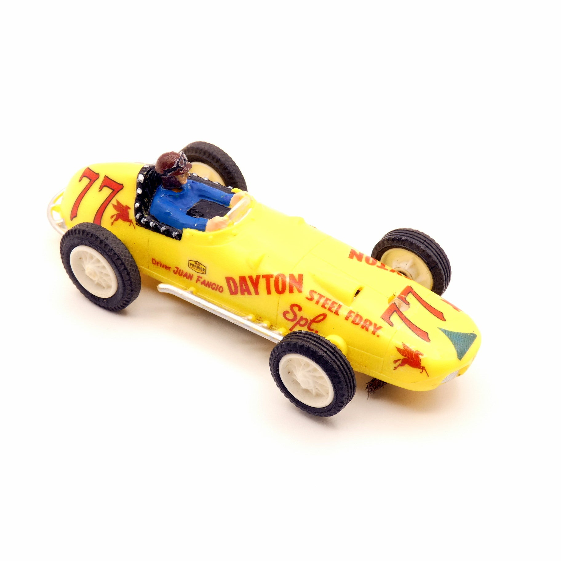 Vintage Slot Car - 1964 Eldon Juan Fangio 1/32 Indy Car