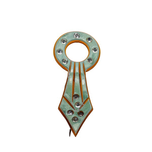 Art Deco Jewelry - Celluloid Mother of Pearl Stick Pin