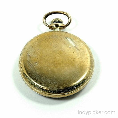 Antique Illinois Pocket Watch Model 3 14K Gold