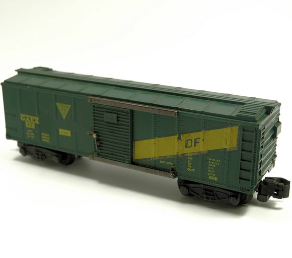 Vintage American Flyer 922 GAEX Box Car Rolling Stock S-Scale - indypicker.com