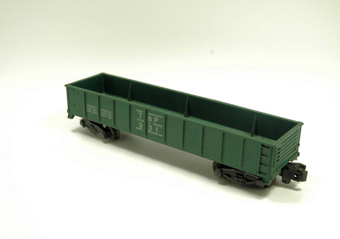 S-Scale Model Train - American Flyer 931 Texas and Pacific Gondola Car