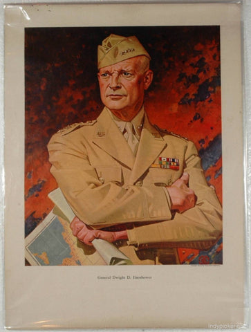 World War II Poster General Dwight Eisenhower
