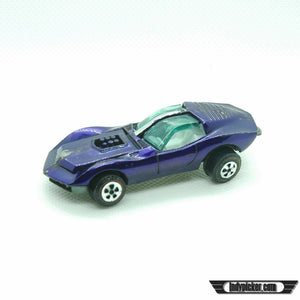 Vintage Diecast Car 1971 Topper Johnny Lightning Purple Mako Shark - Indypicker.com