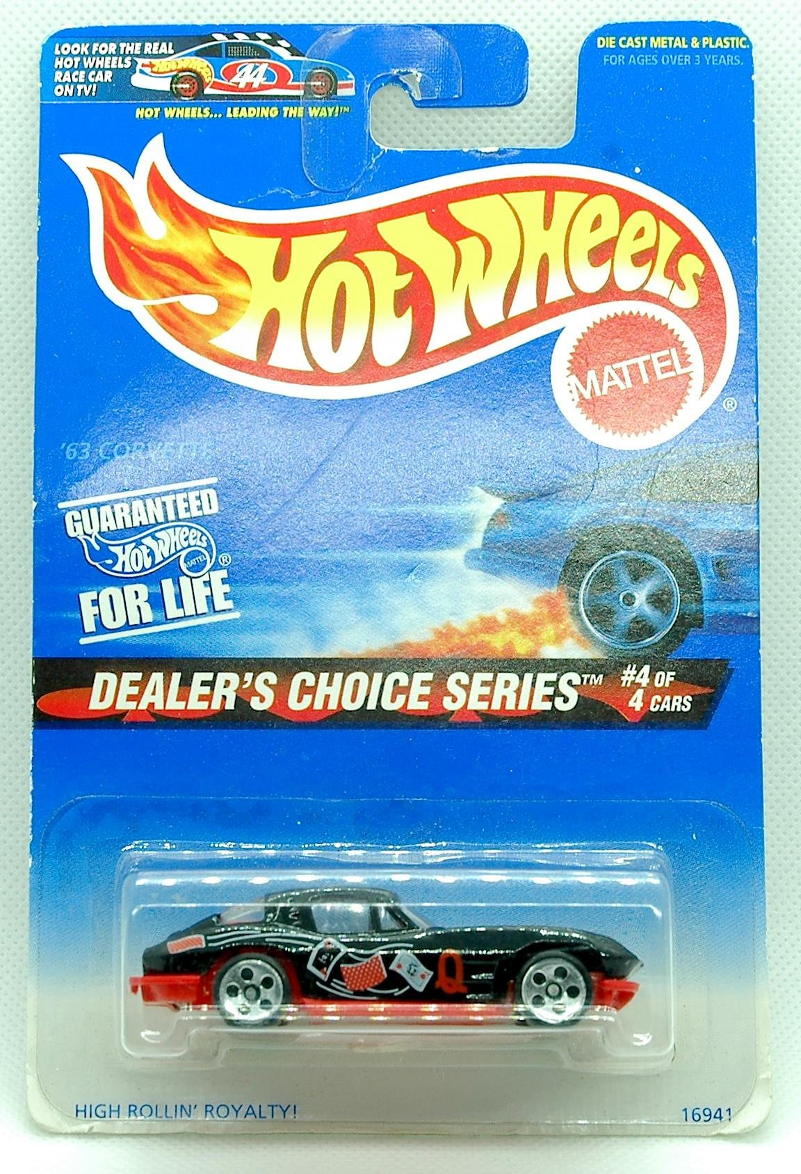Hot Wheels Diecast Car Dealers Choice Series 63 Corvette
