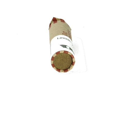 Lincoln Head Wheat Cent Penny Coins Roll 2 - indypicker-com