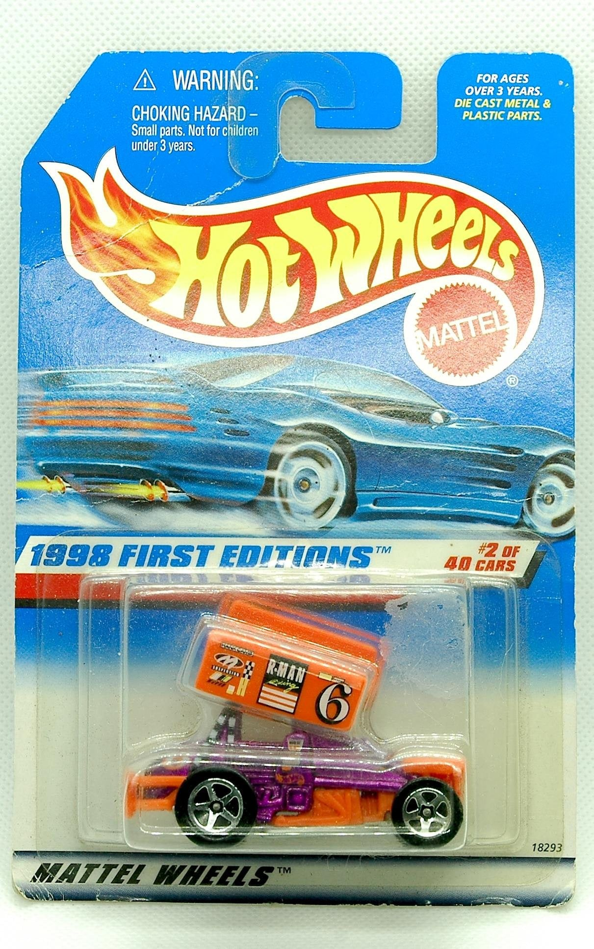 Hot Wheels Diecast Car Dealers Choice Slideout First Edition