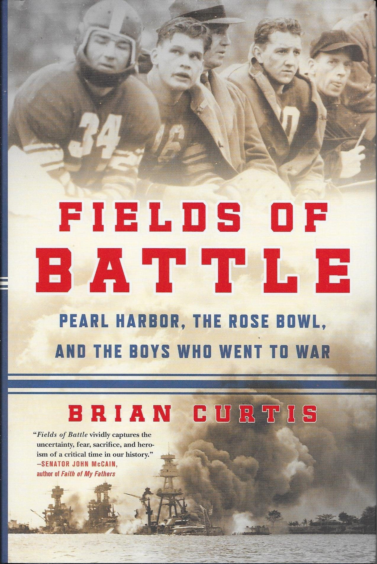 History Book Fields of Battle Pearl Harbor Brian Curtis
