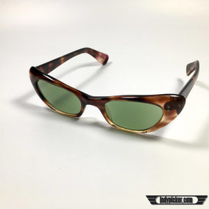 Vintage Ladies Cats Eye Style Sunglasses - Indypicker.com