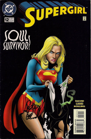 Supergirl Soul Survivor #12 Aug 97 Peter David Signed