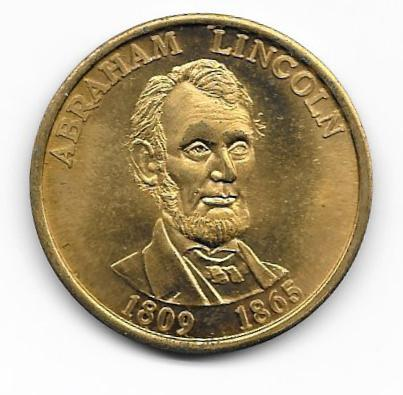 Collector Coin Abraham Lincoln John F Kennedy Presidents Coin (c.1990s)