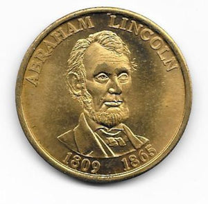 Collector Coin Lincoln Kennedy Presidents Coin - indypicker-com