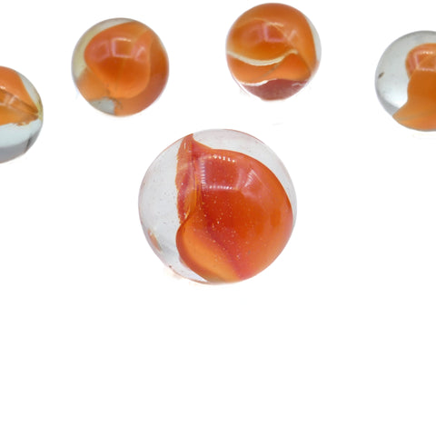 Vintage Marbles - Vitro Agate Cats Eye Marble Set