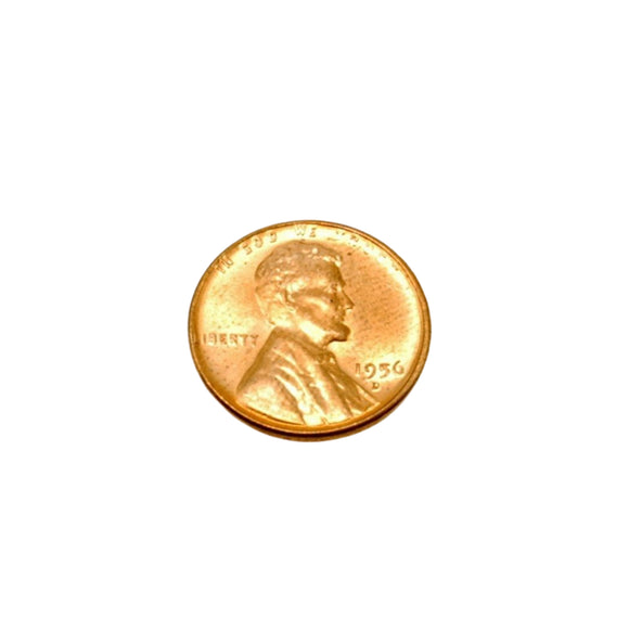 US Coins 1956 D Lincoln Wheat Penny BU