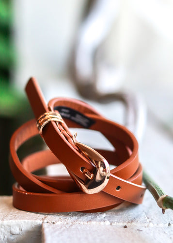 Belt in tan