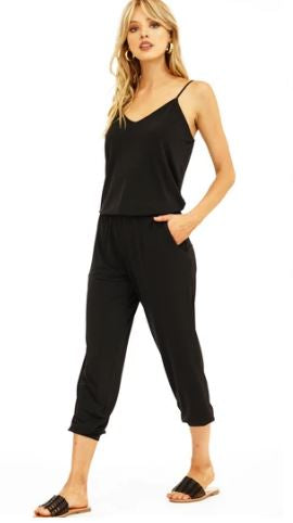 Jogger Jumpsuit in Black