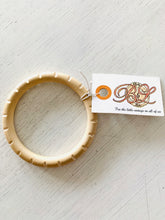 Carved Driftwood Bangle