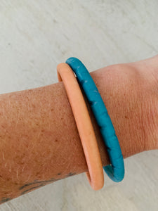 Turquoise Sea Thin Bangle