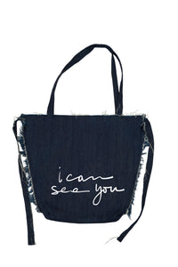 I CAN SEA YOU tote bag
