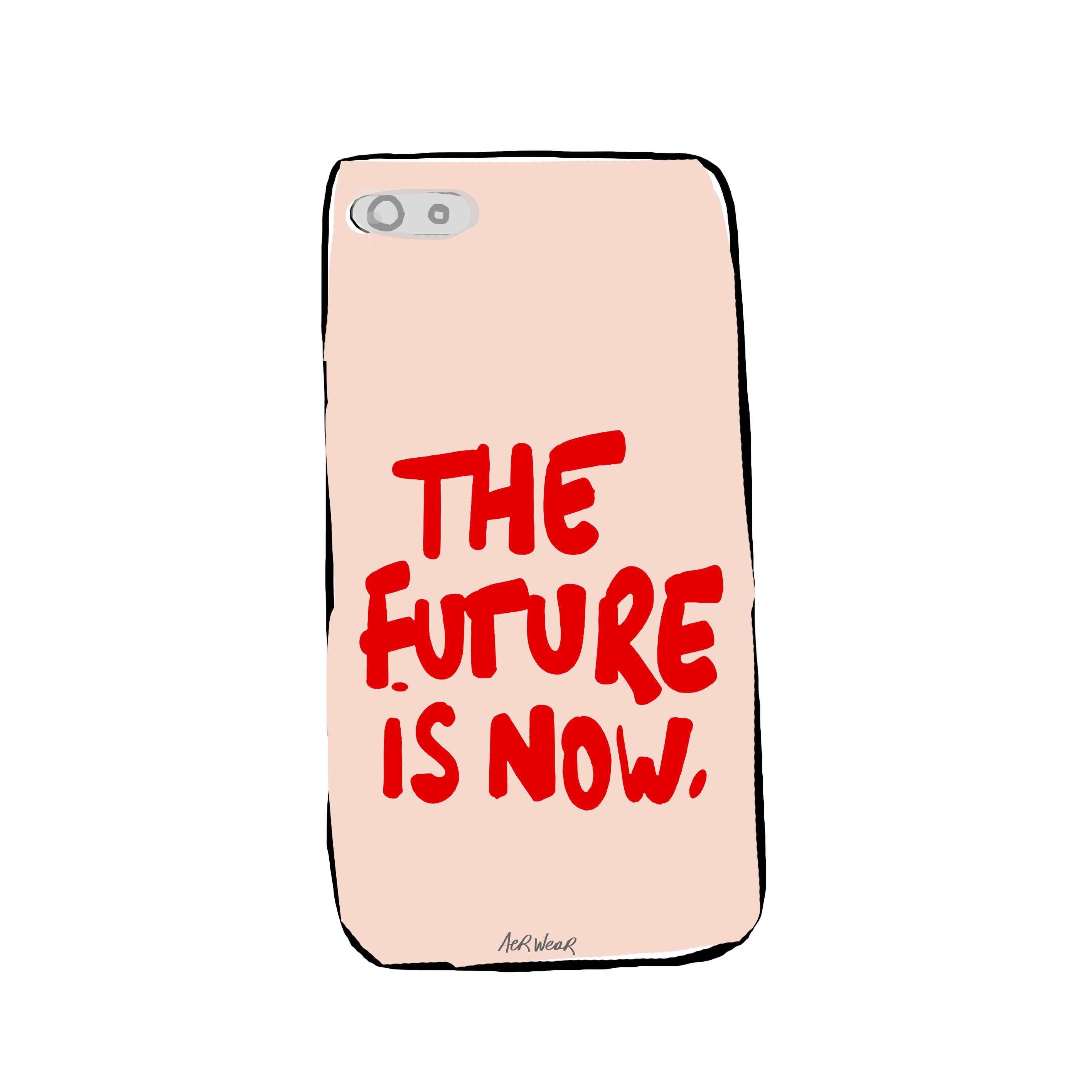 The future is now. PHONE CASE
