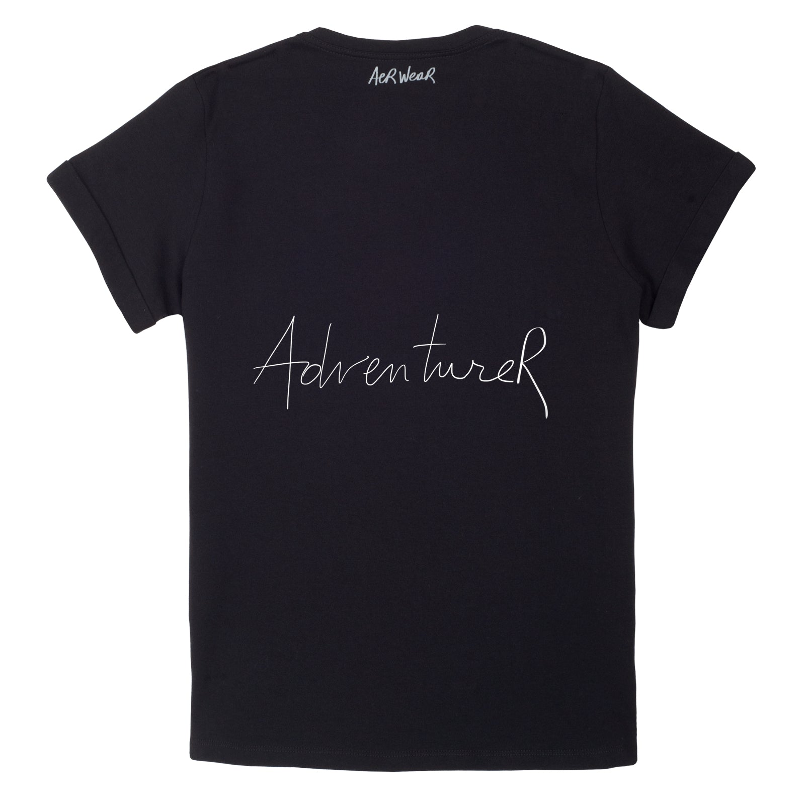 ADVENTURER Tshirt Black version
