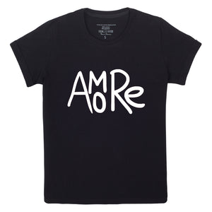 AMORE Tshirt Black version