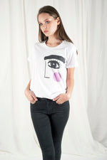 I LOVE ART Tshirt- BLUSH