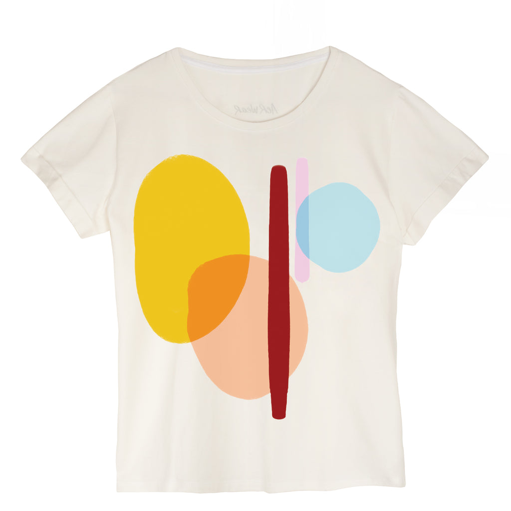 I LOVE ART Tshirt- THE COLORS OF LIFE