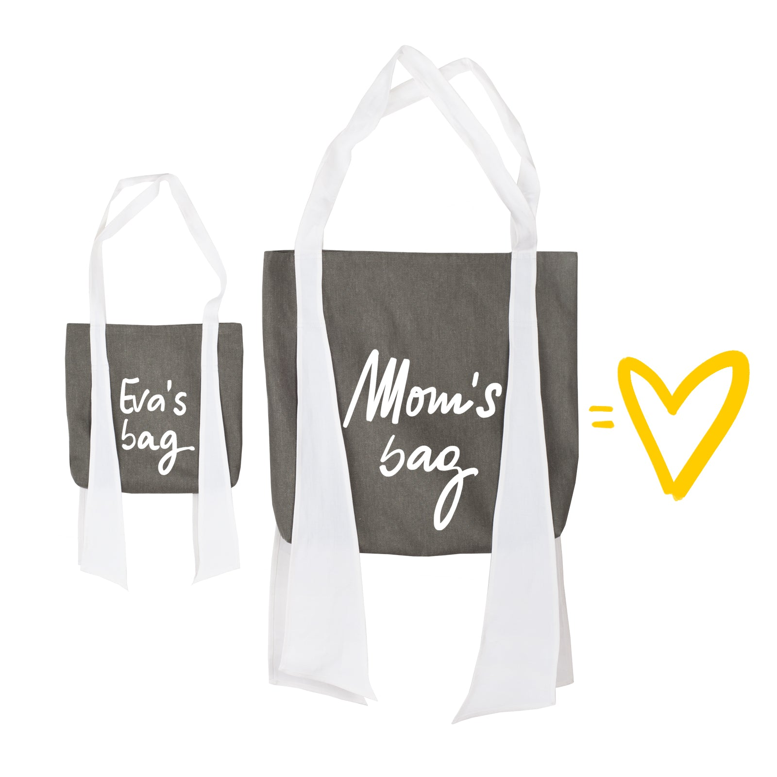 COMBO: Mom's Bag-  Your Kid name here Bag