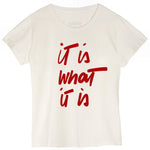 IT IS WHAT IT IS Tshirt