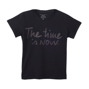 THE TIME IS NOW T shirt