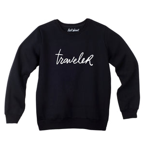 TRAVELER sweatshirt
