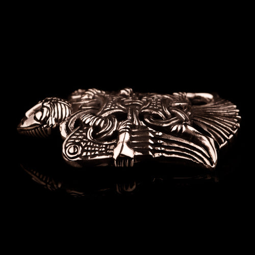Winged Loki Brooch