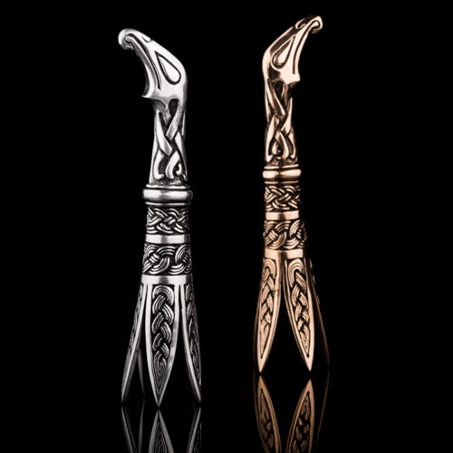 Viking Nail Cleaner with Raven