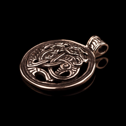 Gripping Beast Pendant from Norway