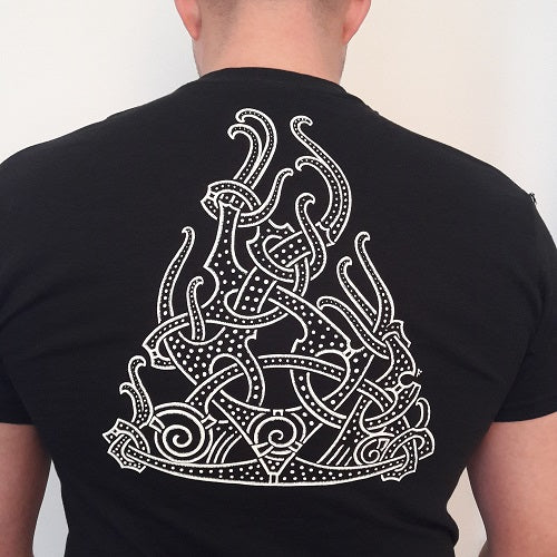 Viking T-Shirt with Beast from the Jelling Stone